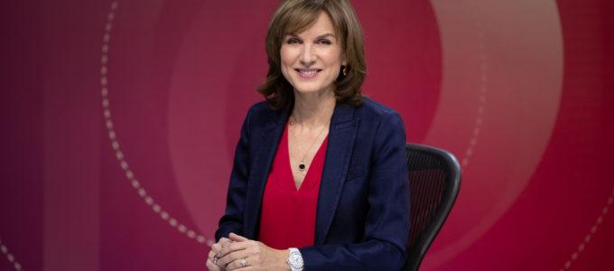 Fiona Bruce - credit BBC-Mentorn Media Richard Lewisohn
